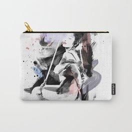 Shibari - Japanese BDSM Art Painting #12 Carry-All Pouch