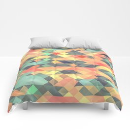 Tribal Triangles Comforters