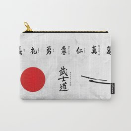 7 Virtues of Bushido Carry-All Pouch