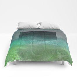 Square Composition V Comforters