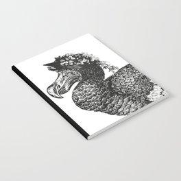 Mrs Dodo | Black & White Notebook