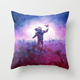 The Field Trip Throw Pillow