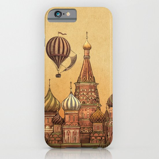 Trip to Moscow iPhone & iPod Case