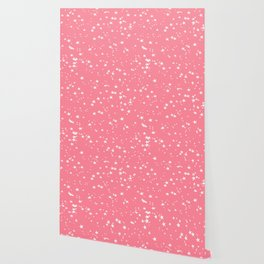 Paradise Pink Stars Wallpaper