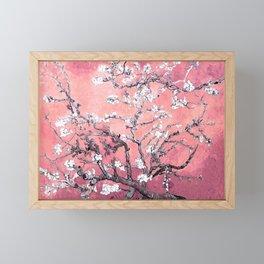 Van Gogh Almond Blossoms : Peachy Pink Framed Mini Art Print