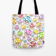 Iddy Diddy Mushrooms  Tote Bag