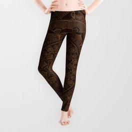 Mandala Dark Chocolate Leggings