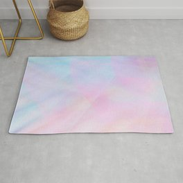 Abstract Pastel Design Rug
