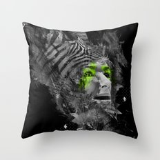 I'm Abstract Throw Pillow
