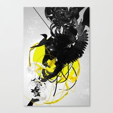 The morphing connection Canvas Print