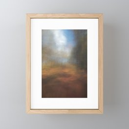 Forest Trail (Abstract ICM), Forth Mountain, Wexford Framed Mini Art Print
