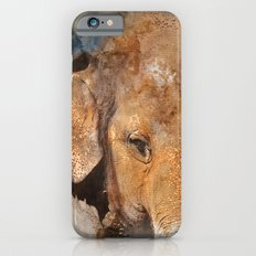 Elephant Watercolour iPhone 6s Slim Case