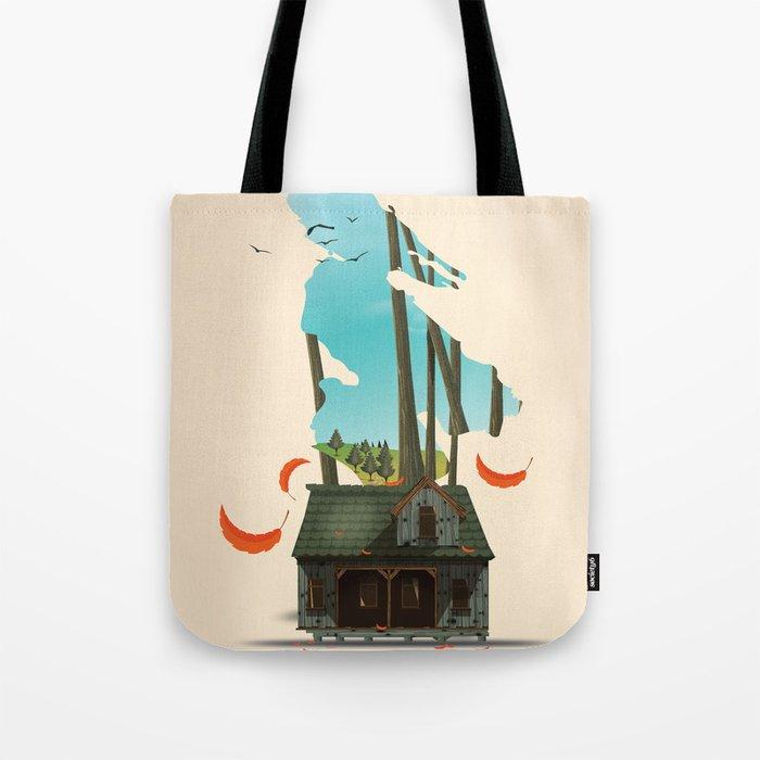 Salt Spring Island Canada Tote Bag