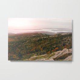 Autumn in Acadia II Metal Print