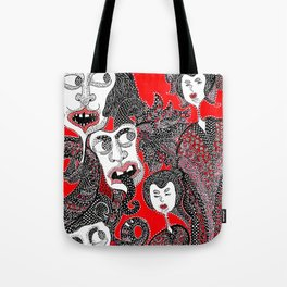 They can't be seen Tote Bag