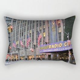 Radio City Music Hall, NYC Rectangular Pillow