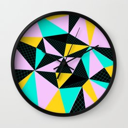 Co lo rs Wall Clock