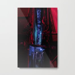 Tokyo After Dark I / TO:KY:OO / Liam Wong Metal Print
