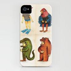 Costumes - Animalados Slim Case iPhone (4, 4s)
