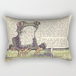 Frog-E-Doodle Rectangular Pillow