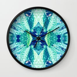 Floral Crown Wall Clock