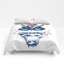 Blue Demon Comforters