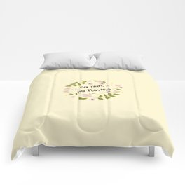 The Inspirational Quote IV Comforters