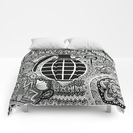 Fire in the hole !  Comforters