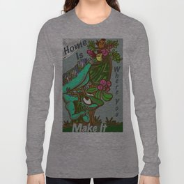 Where is home?  Long Sleeve T-shirt