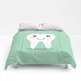 Cute Teeth Comforters