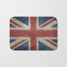 England's Union Jack, Dark Vintage 3:5 scale Bath Mat