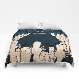Groke, the moomins Comforters