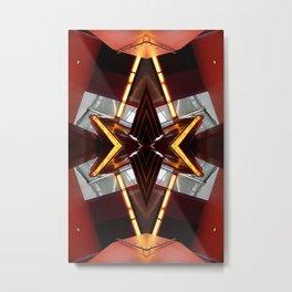 TRE 0812 - digital symmetry Metal Print