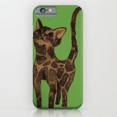 Giraffe Cat. iPhone 6s Slim Case