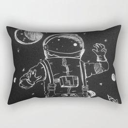 Exploration: Outer Space Rectangular Pillow