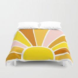 Sun Ray Burst Duvet Cover