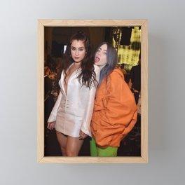 Lauren and Billie Framed Mini Art Print