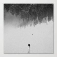 Silent Walk Canvas Print