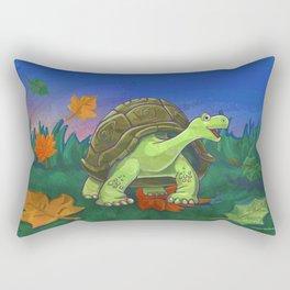 Animal Parade Tortoise Rectangular Pillow