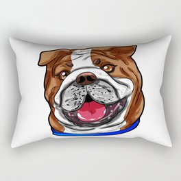 French Bulldog English Dog Puppy Present Gift Rectangular Pillow