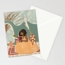 Pampas Grass Pottery Stationery Cards