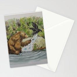 Otis & The Raven Stationery Cards