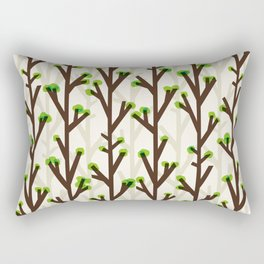 Tree pattern Rectangular Pillow