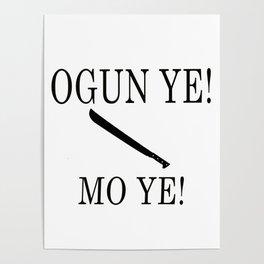 Ogun Poster