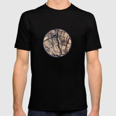Wood Mens Fitted Tee Black MEDIUM