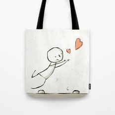 Trip Over Tote Bag