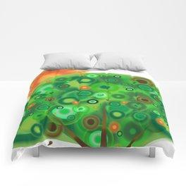 Be Like A Tree Comforters