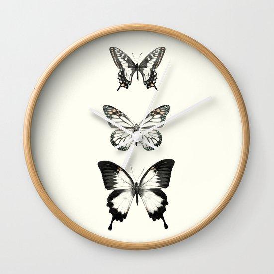 Butterflies // Align Wall Clock