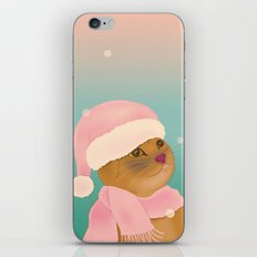 Dressing up for the snow iPhone & iPod Skin