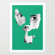 Quiet Already Art Print